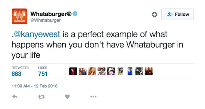 Whataburger tweet social media