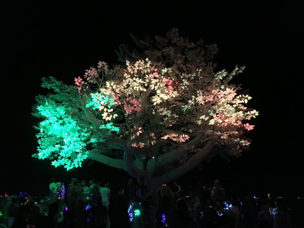 Digital Yggdrasil Burning Man